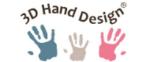 3D Hand Design logo